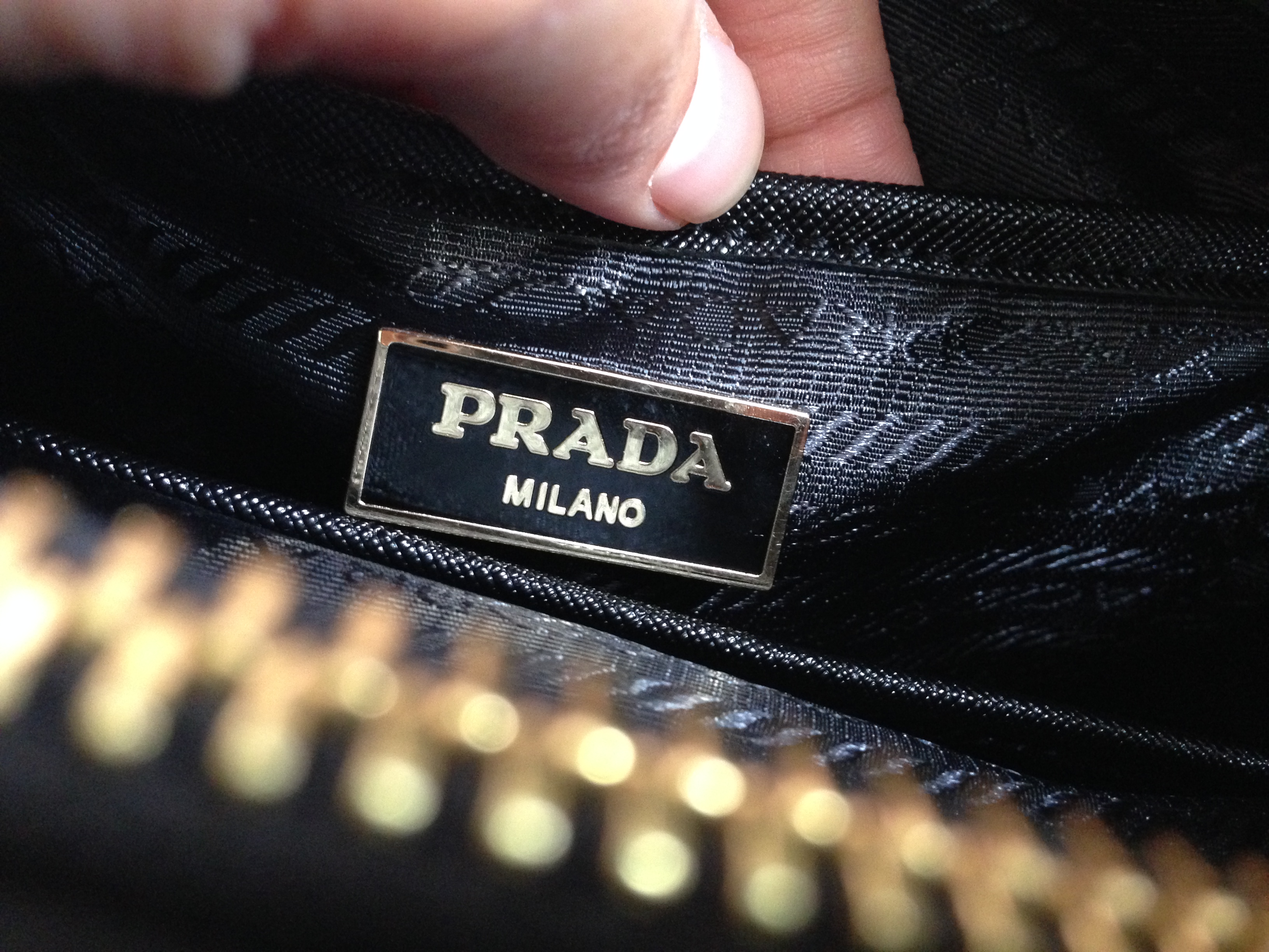 prada handbag with flower - REP-A-PORTER Review \u2013 Black Prada Saffiano Replica Knockoff ...