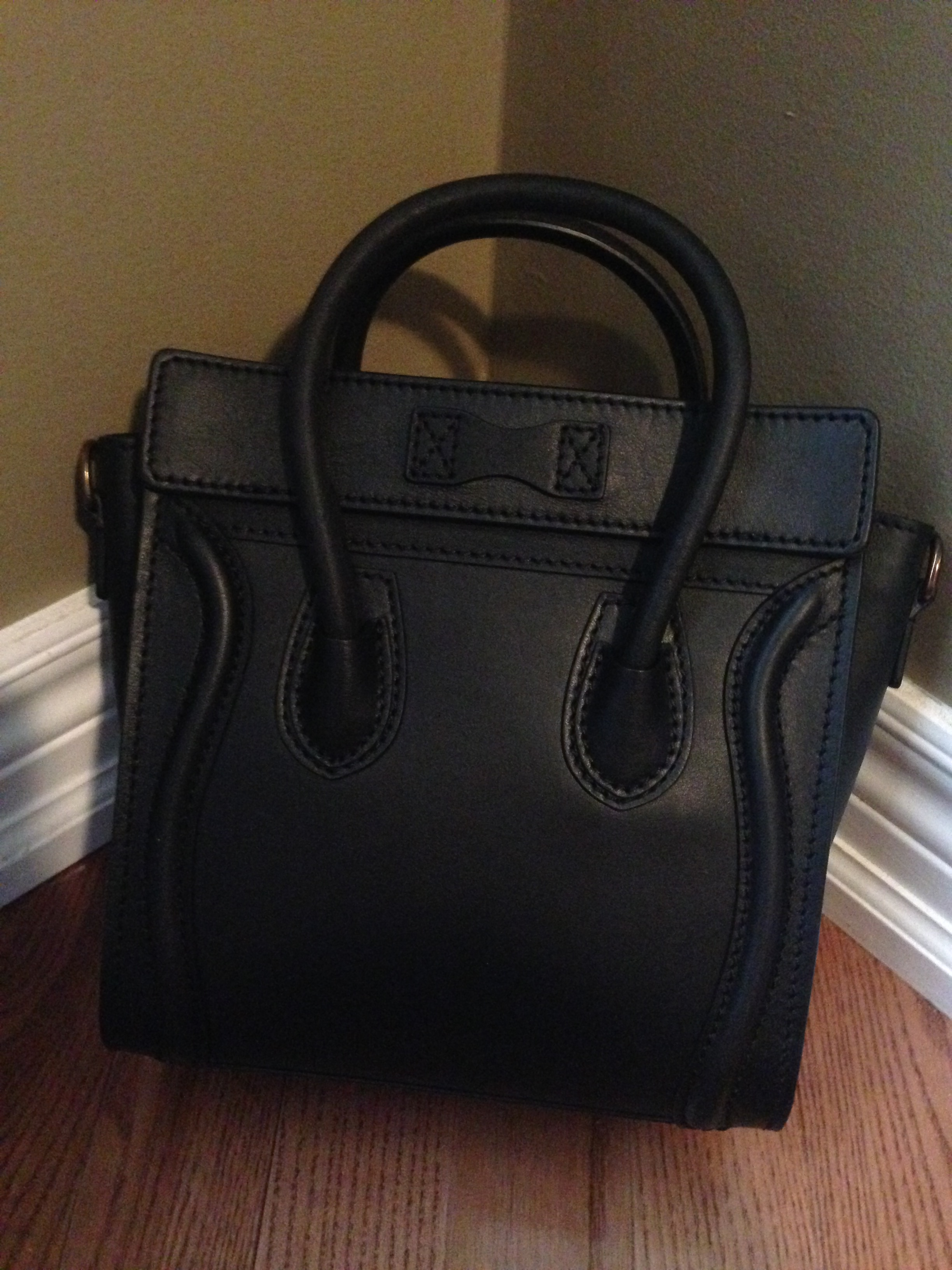 authentic celine luggage tote