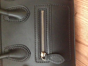 celine-nano-pocket-zipper-gold-black-authentic