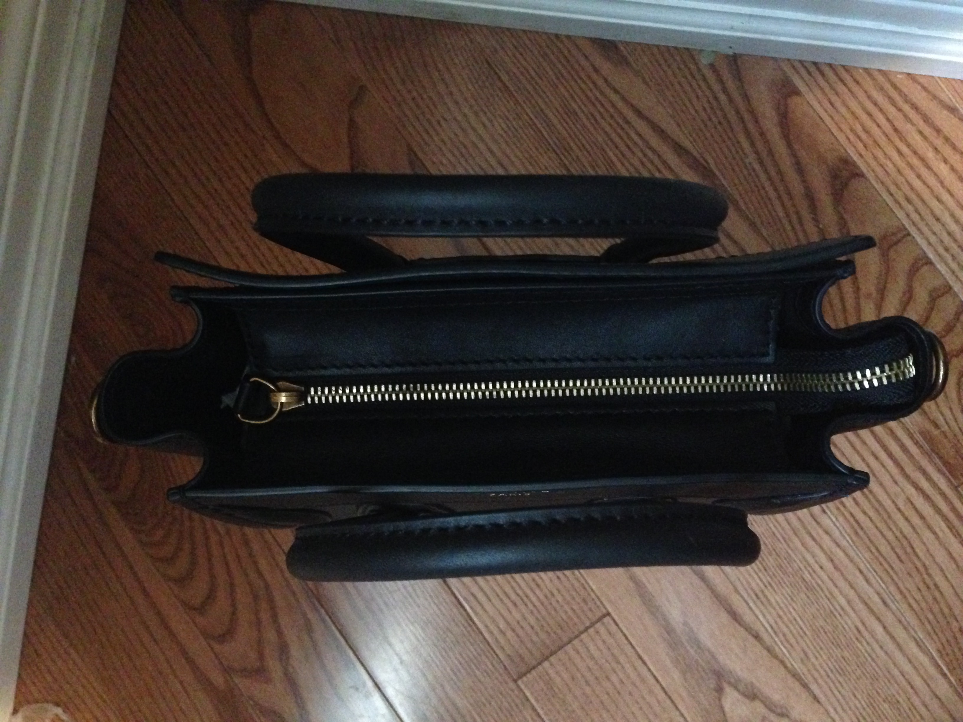 celine zipped bag