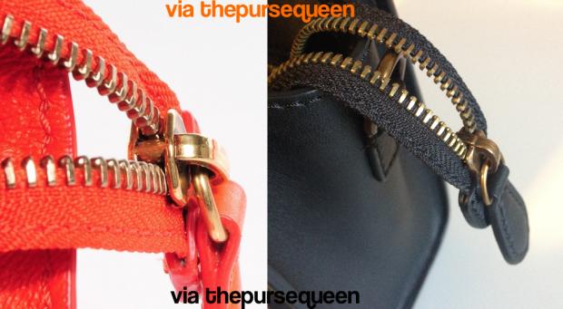 celine bag zipper fake vs real authentic vs replica nano