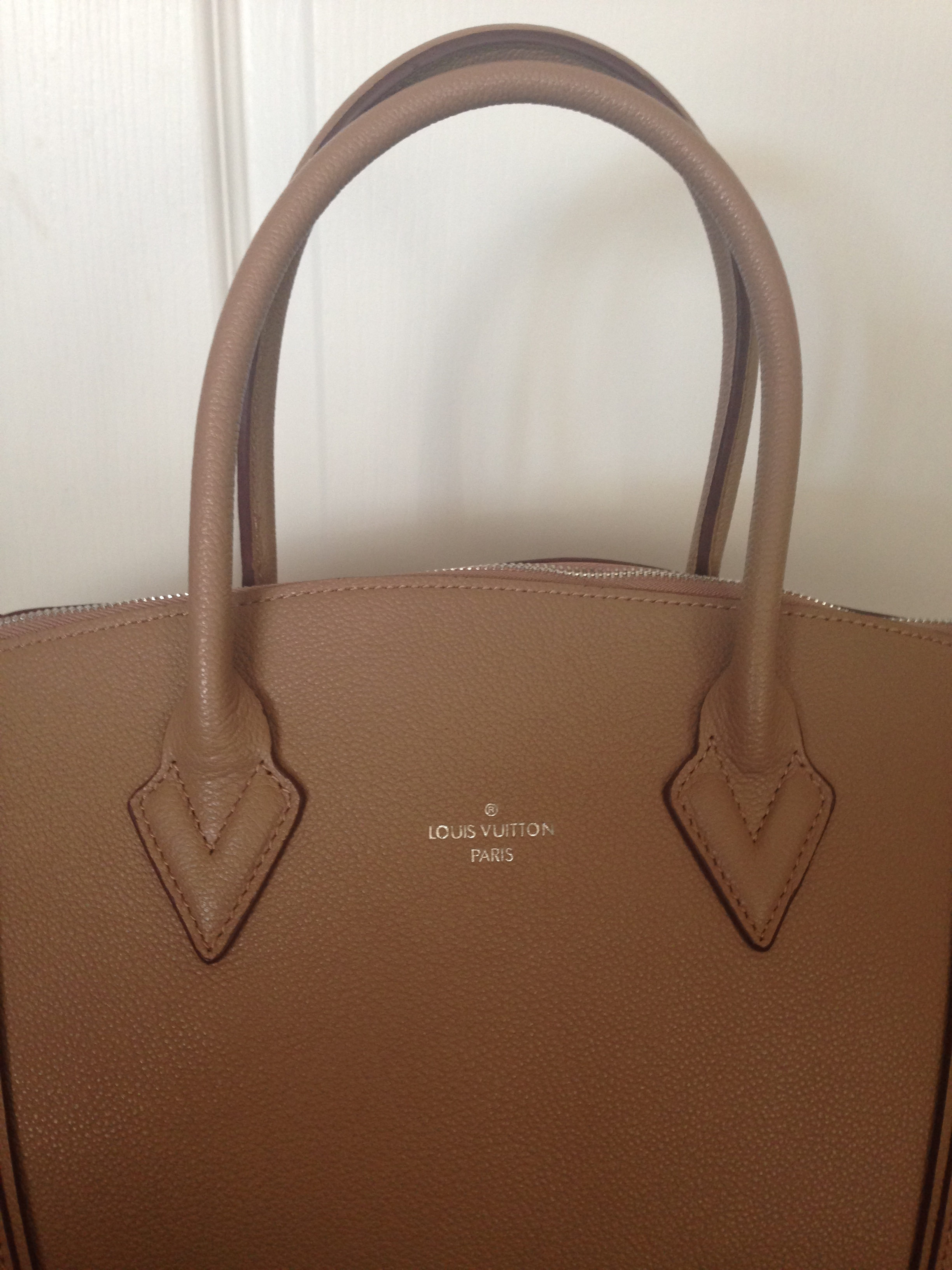 celine phantom brown - Louis Vuitton Soft Lockit Replica Handbag Review �C Authentic ...