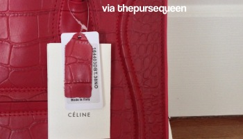 real and fake celine phantom