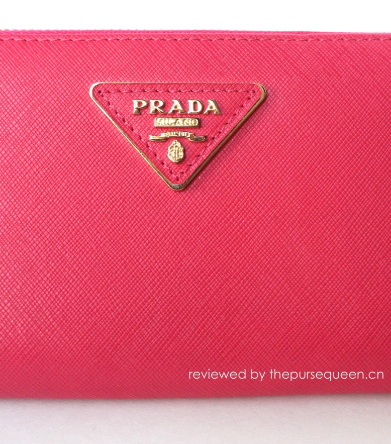 real vs fake prada logo