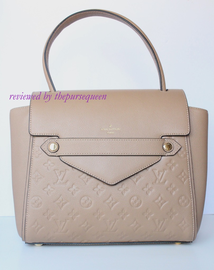 louis vuitton empreinte Trocadero replica authentic review