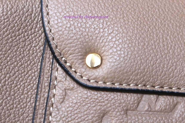 louis vuitton Trocadero empreinte replica authentic review hardware closeup 2