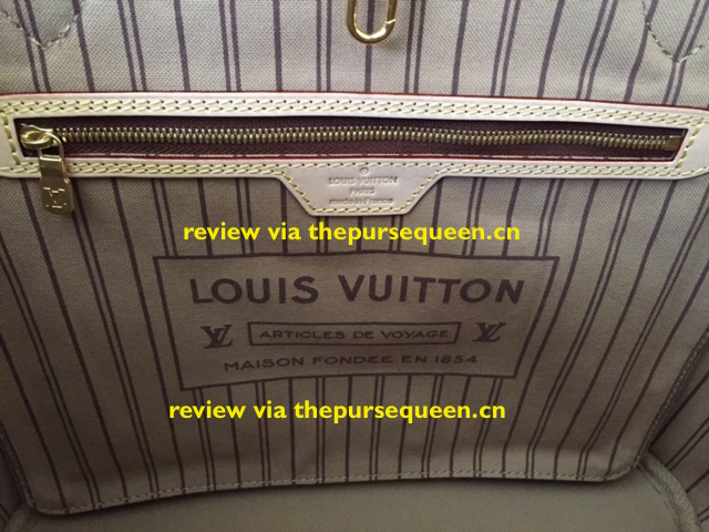 LOUIS VUITTON NEW NEVERFULL AUTHENTIC REPLICA LINING