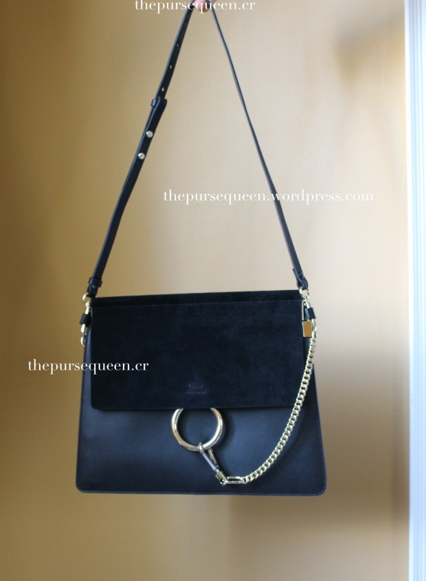 chloe faye bag replica authentic review black