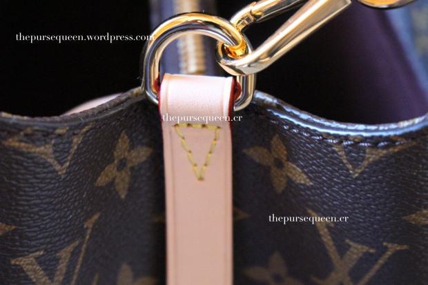 louis vuitton montaigne replica #replicabag #replicabags leather trimming