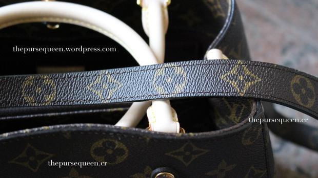 louis vuitton montaigne replica #replicabag #replicabags #realvsfake strap
