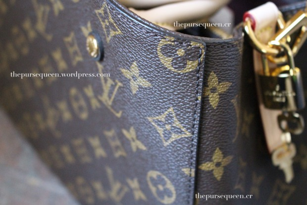 louis vuitton montaigne replica #replicabag #replicabags stitching